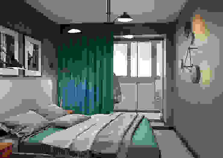 Modern Bedroom by Дизайн Студия 33 Modern