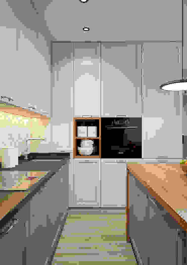 Modern Kitchen by Дизайн Студия 33 Modern