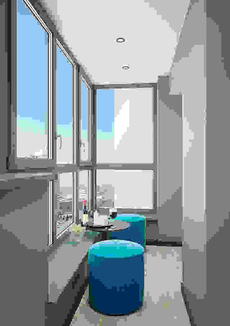 Modern Terrace by Дизайн Студия 33 Modern