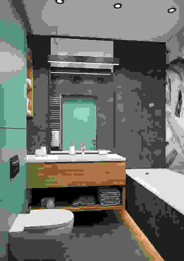 Modern Bathroom by Дизайн Студия 33 Modern