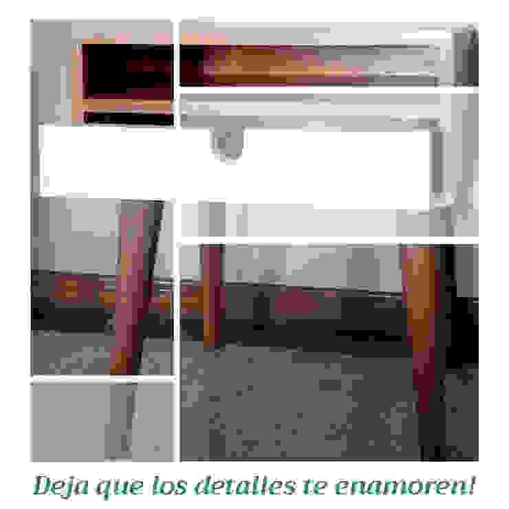 Nochero Vero de Like Design Escandinavo Madera Acabado en madera
