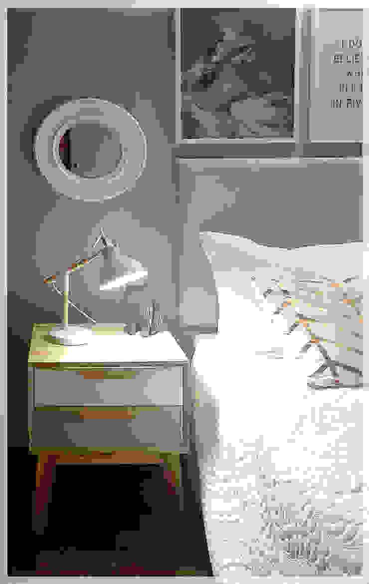 Nochero Nat de Like Design Moderno Madera Acabado en madera