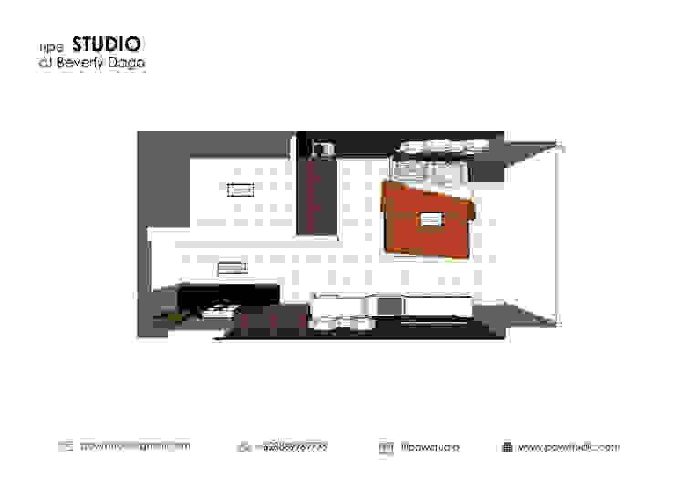 BEVERLY – Honeycomb Studio:modern  oleh POWL Studio, Modern