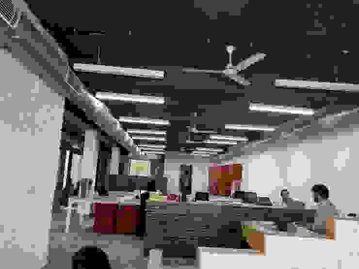 commercial floor plan design by Swiftpro Interior Designers in Delhi