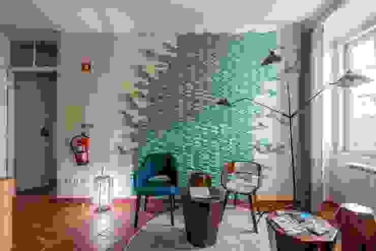 19Tile Boutique House - Painel de Azulejos Hotéis modernos por Molde SA Moderno