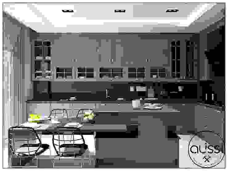 KES / VİLLA Modern Mutfak ALİSSİ İÇ MİMARLIK Modern