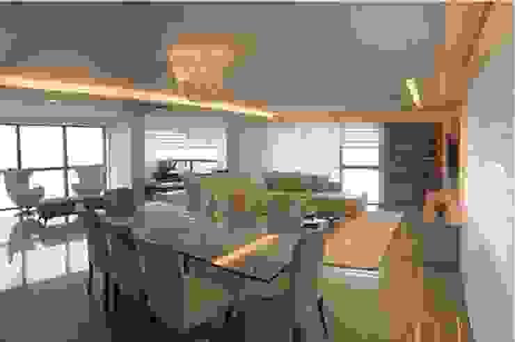 Ana Amélia Zoby Arquitetura Classic style dining room Beige