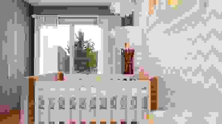 Quarto Bebê: Quartos dos meninos  por Studio MP Interiores ,Moderno MDF