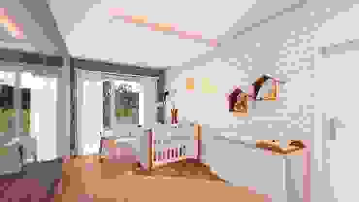 Quarto de Bebê : Quartos de bebê  por Studio MP Interiores ,Moderno MDF