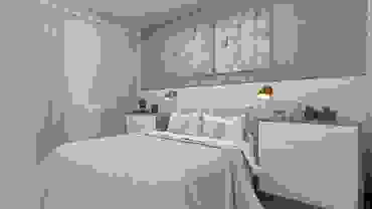 Studio MP Interiores Modern Bedroom MDF Wood effect