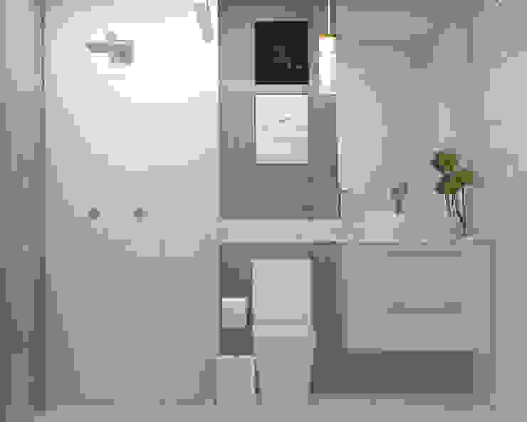 Studio MP Interiores Modern Bathroom Concrete Grey