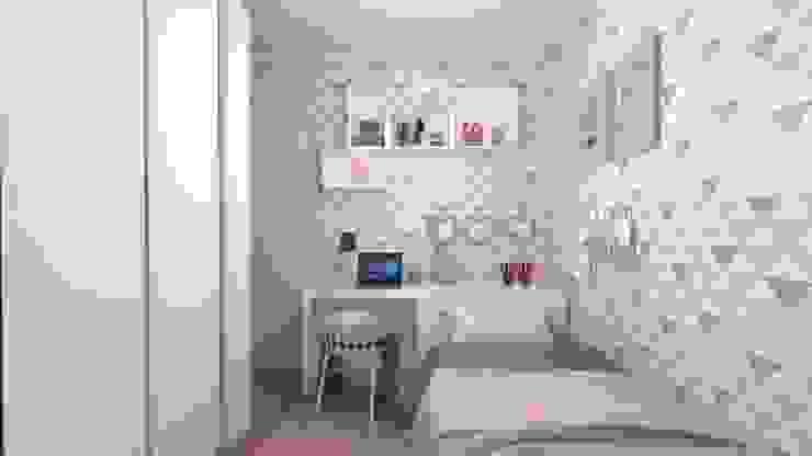 Studio MP Interiores Modern Bedroom MDF Pink