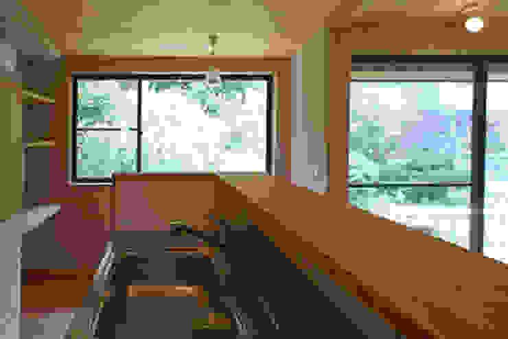 Cucina eclettica di 環境創作室杉 Eclettico