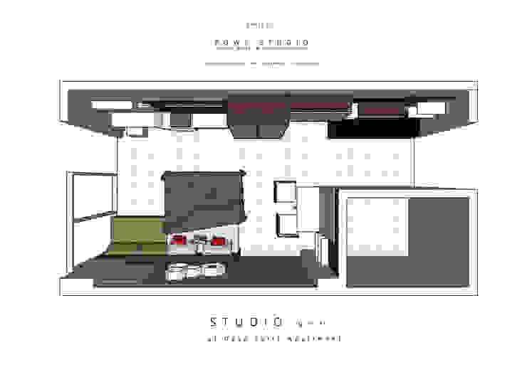 Denah Ruang Batik Studio Oleh POWL Studio Klasik