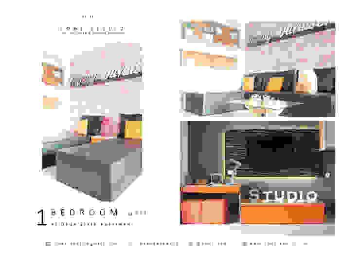 Industrial style bedroom by POWL Studio Industrial