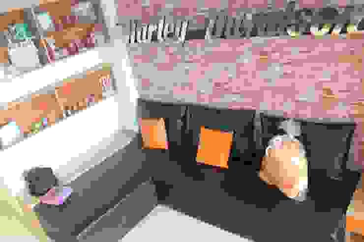 Industrial style living room by POWL Studio Industrial