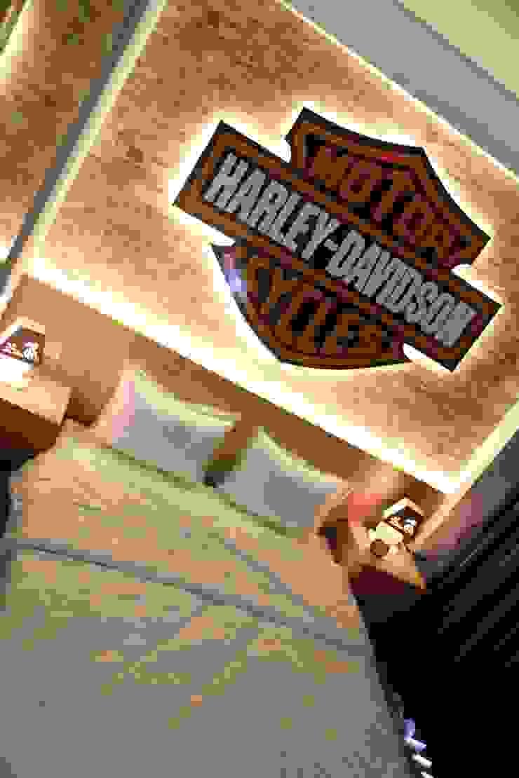 Dago Suite - Harley Davidson Kamar Tidur Gaya Industrial Oleh POWL Studio Industrial