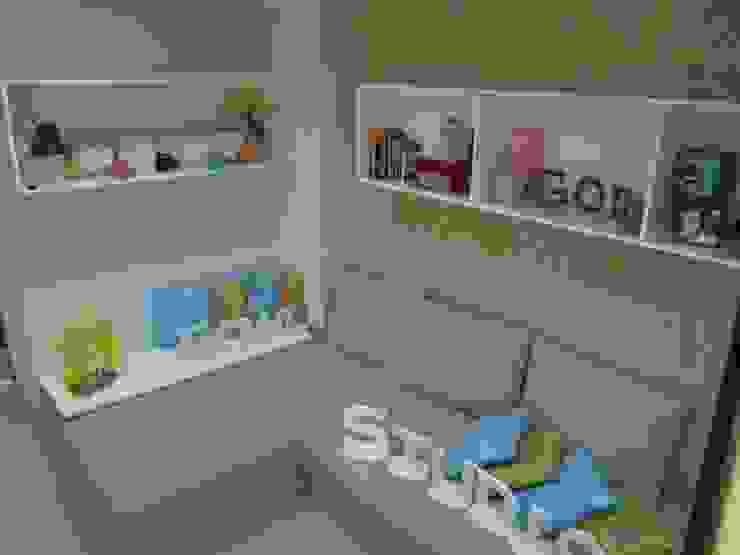 Dago Suite – Tipe 1 Bedroom Ruang Keluarga Modern Oleh POWL Studio Modern
