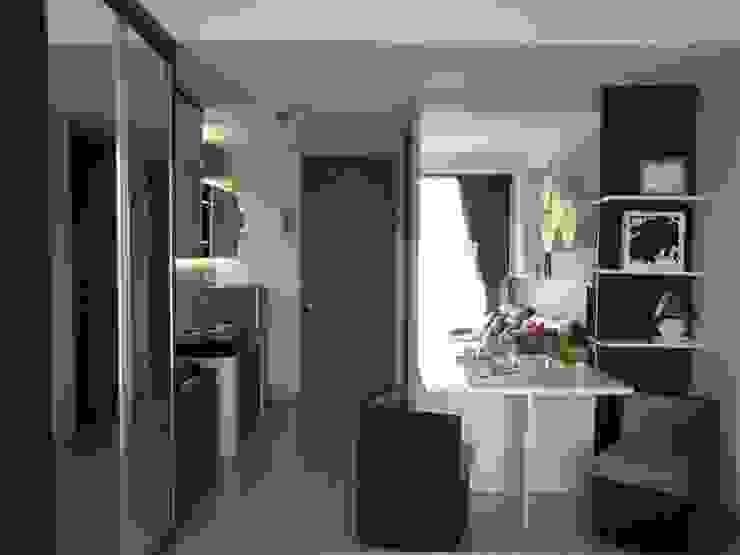 Dago Suite – Apartment Studio Koridor & Tangga Minimalis Oleh POWL Studio Minimalis