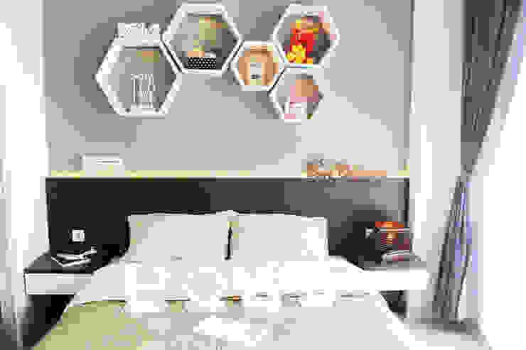 Dago Suite - Tipe 1 Bedroom Connecting Door Kamar Tidur Modern Oleh POWL Studio Modern