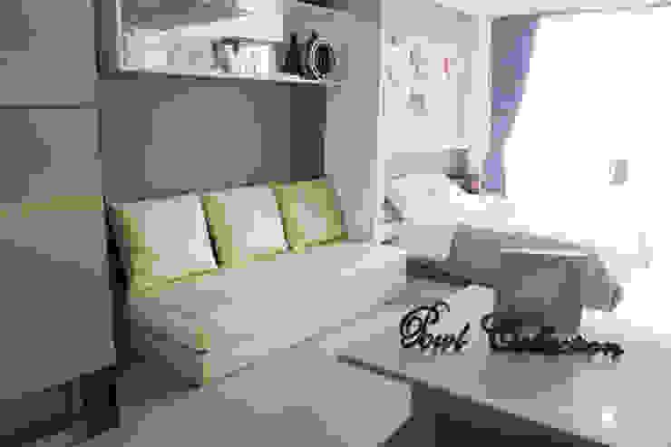 Dago Suite - Tipe 1 Bedroom Connecting Door Ruang Keluarga Modern Oleh POWL Studio Modern