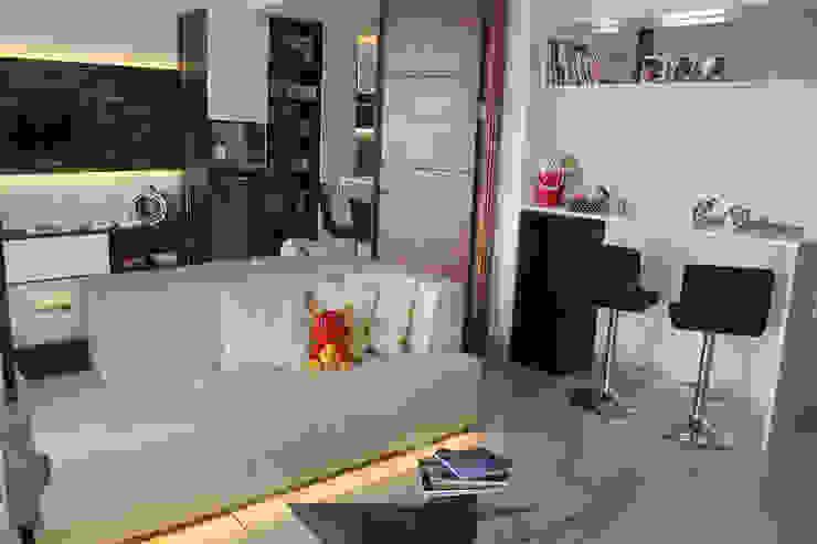 Dago Suite – Tipe 1 Bedroom Connecting Door Ruang Studi/Kantor Modern Oleh POWL Studio Modern
