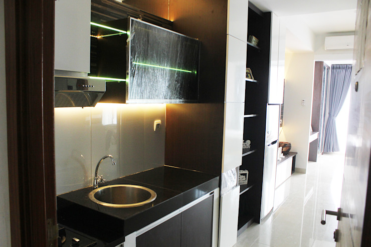 Dago Suite – Tipe 1 Bedroom Connecting Door Oleh POWL Studio Modern