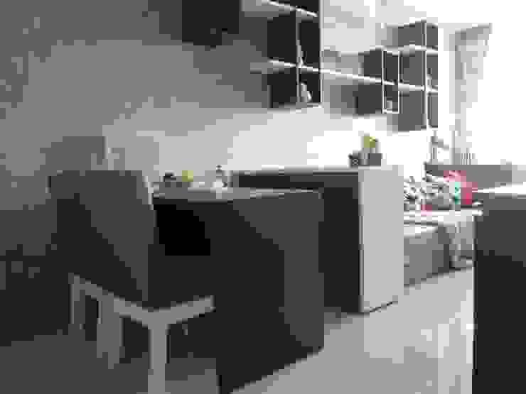 Dago Suite – Single Unit 1 Bedroom Ruang Makan Modern Oleh POWL Studio Modern
