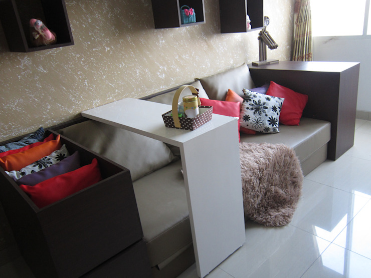 Dago Suite – Single Unit 1 Bedroom:modern  oleh POWL Studio, Modern