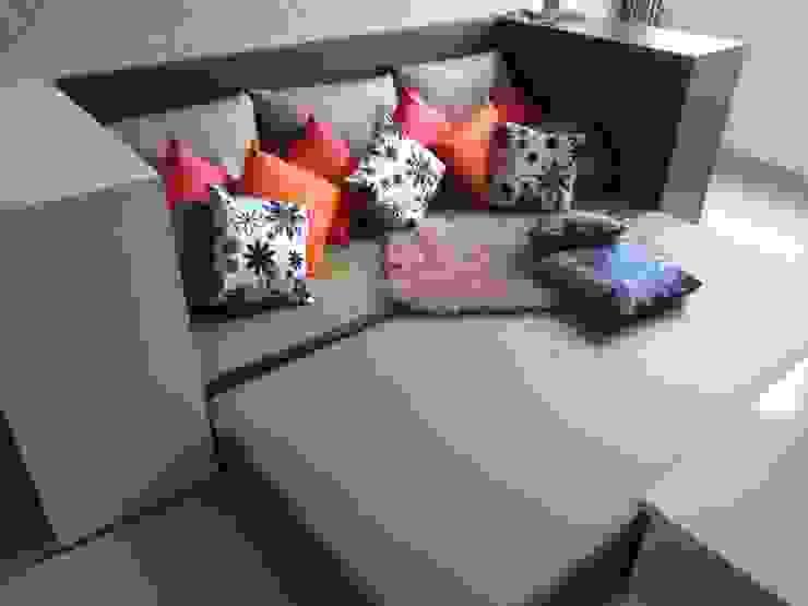 Dago Suite – Single Unit 1 Bedroom Ruang Keluarga Modern Oleh POWL Studio Modern