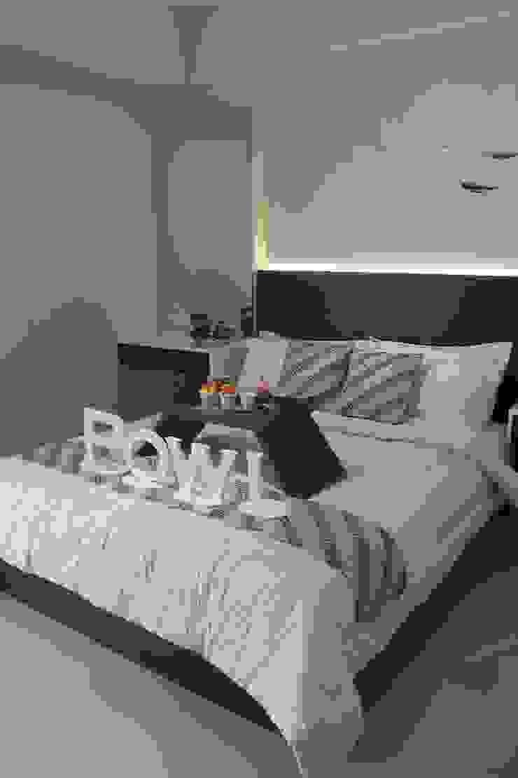 Galeri Ciumbuleuit II – Tipe 2 Bedroom Kamar Tidur Modern Oleh POWL Studio Modern