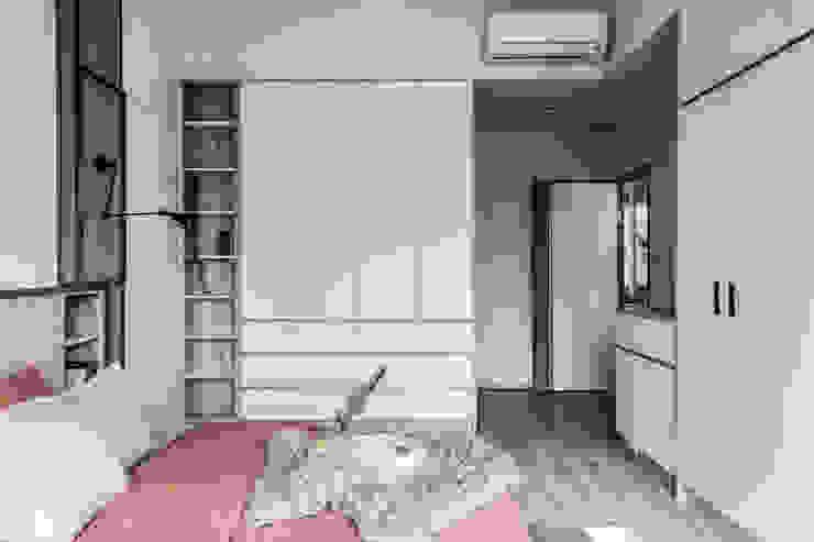 中古翻新生活宅 舒眠空間有大收納 達譽設計 臥室