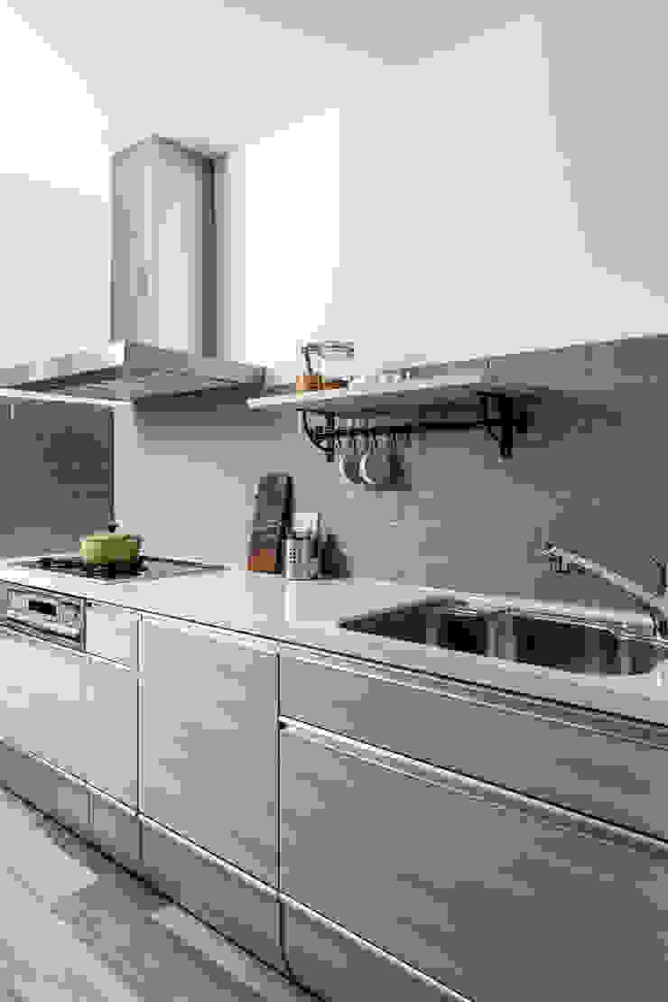 中古翻新生活宅 重新定義廚房機能 達譽設計 廚房