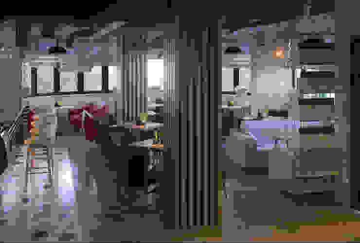 Diseño 3D local comercial :  de estilo  de Glancing EYE - Asesoramiento y decoración en diseños 3D