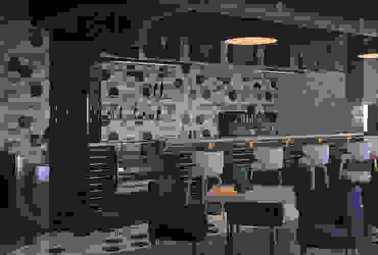 Diseño 3D bar :  de estilo  de Glancing EYE - Asesoramiento y decoración en diseños 3D