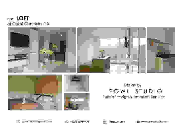 Galeri Ciumbuleuit III - Tipe Loft:  oleh POWL Studio,