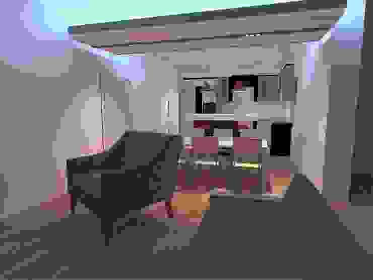 PE. Projectos de Engenharia, LDa 现代客厅設計點子、靈感 & 圖片