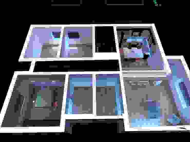 PE. Projectos de Engenharia, LDa Casas modernas: Ideas, imágenes y decoración