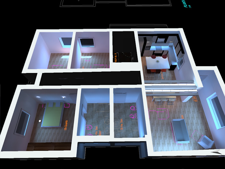 PE. Projectos de Engenharia, LDa 現代房屋設計點子、靈感 & 圖片