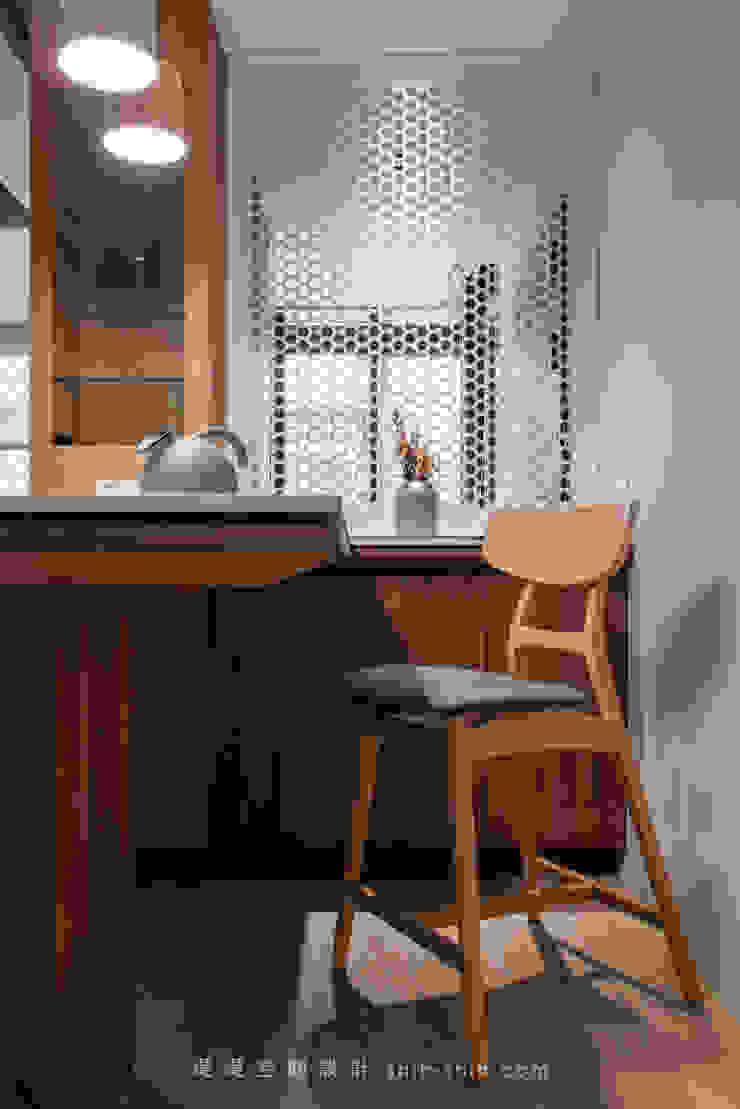 dinning table 根據 湜湜空間設計 日式風、東方風 實木 Multicolored
