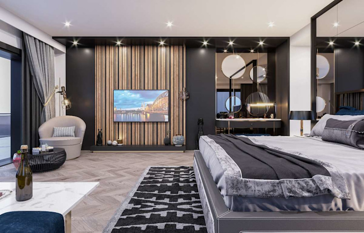 Modern Bedroom by VERO CONCEPT MİMARLIK Modern