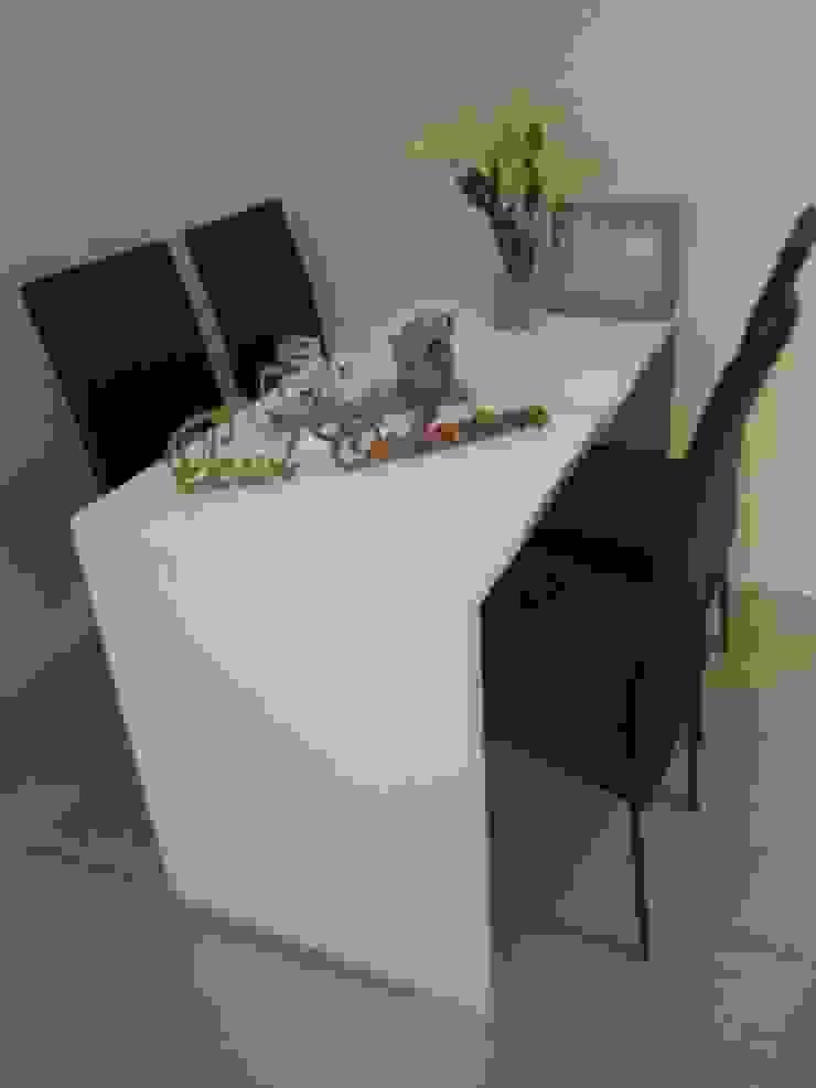 Sudirman Suite Ruang Makan Modern Oleh POWL Studio Modern