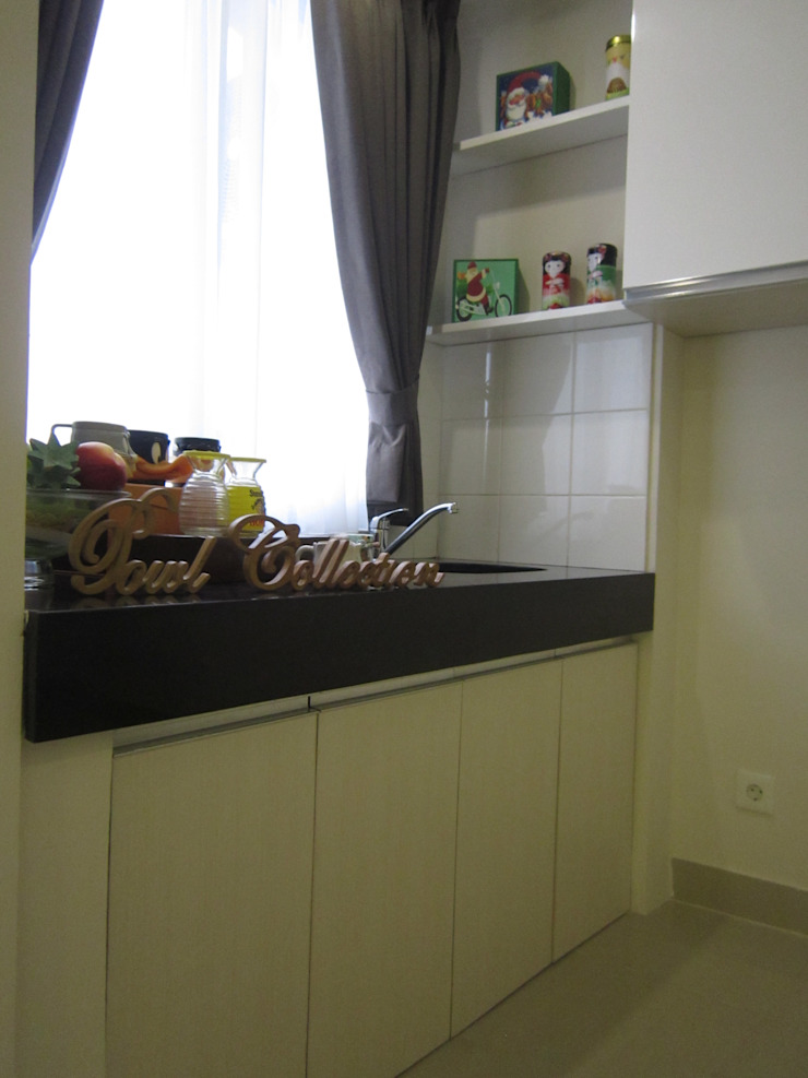 Sudirman Suite Dapur Modern Oleh POWL Studio Modern