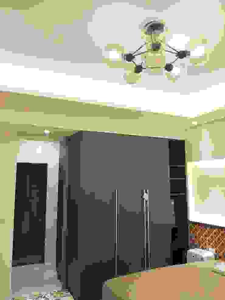 主臥室衣櫃 頂尖室內設計工程行 Minimalist bedroom