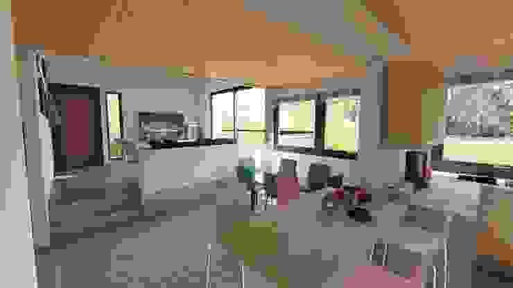 Minimalist dining room by Ekeko arquitectura - Coquimbo Minimalist