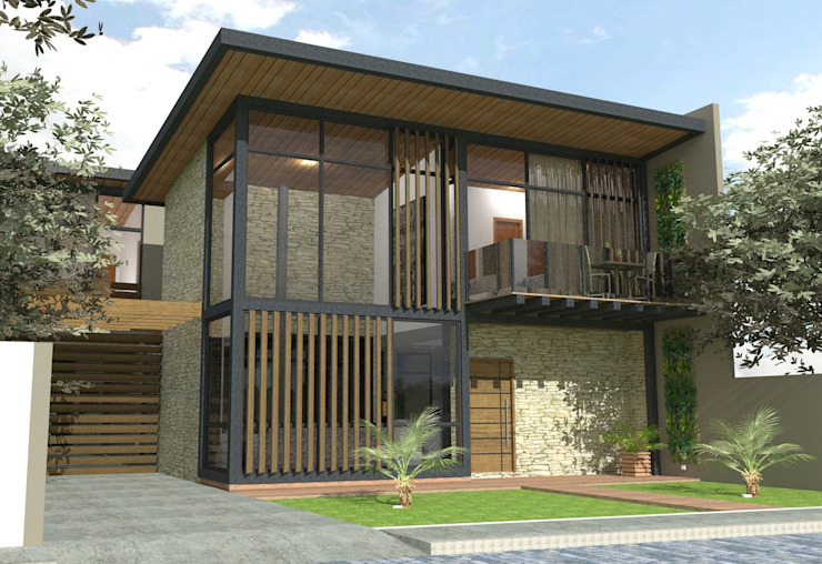 Residencial Studiopar Arquitetura Casas familiares
