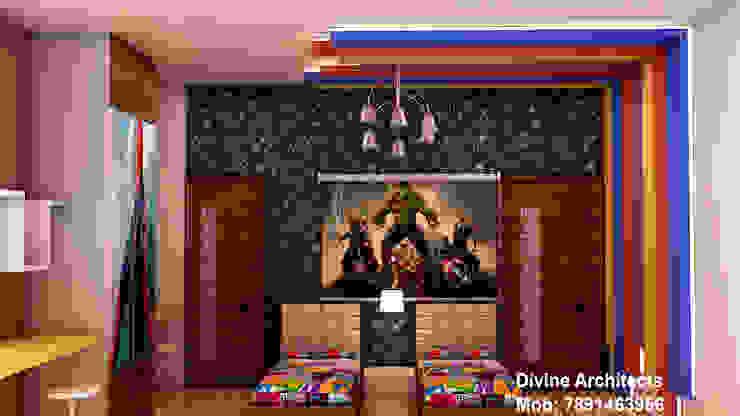 Kids room interior design for mr. Ramavtar Khunteta jalmahal site joraver Singh gate govind nagar east Jaipur Modern nursery/kids room by divine architects Modern
