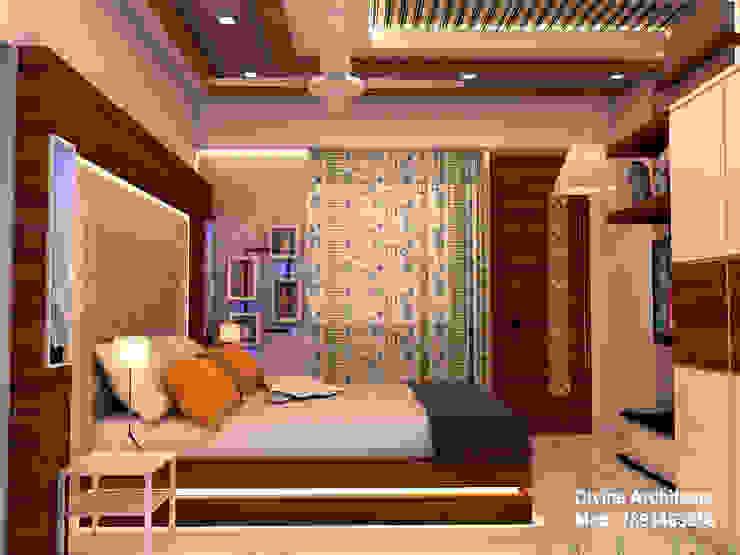 Son_ s bed room interior design for mr. Ramavtar Khunteta jalmahal site joraver Singh gate govind nagar east Jaipur divine architects Modern style bedroom