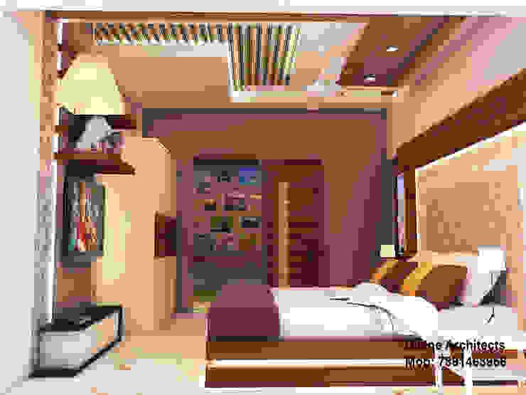 Son_ s bed room interior design for mr. Ramavtar Khunteta jalmahal site joraver Singh gate govind nagar east Jaipur Modern style bedroom by divine architects Modern