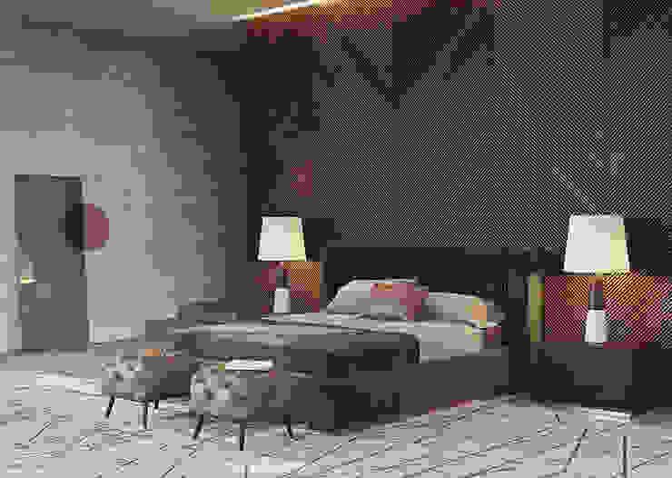 Laskasas Camera da letto moderna